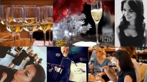 Новогодний урок вина и макияжа. Дегустационный клуб Little Friday